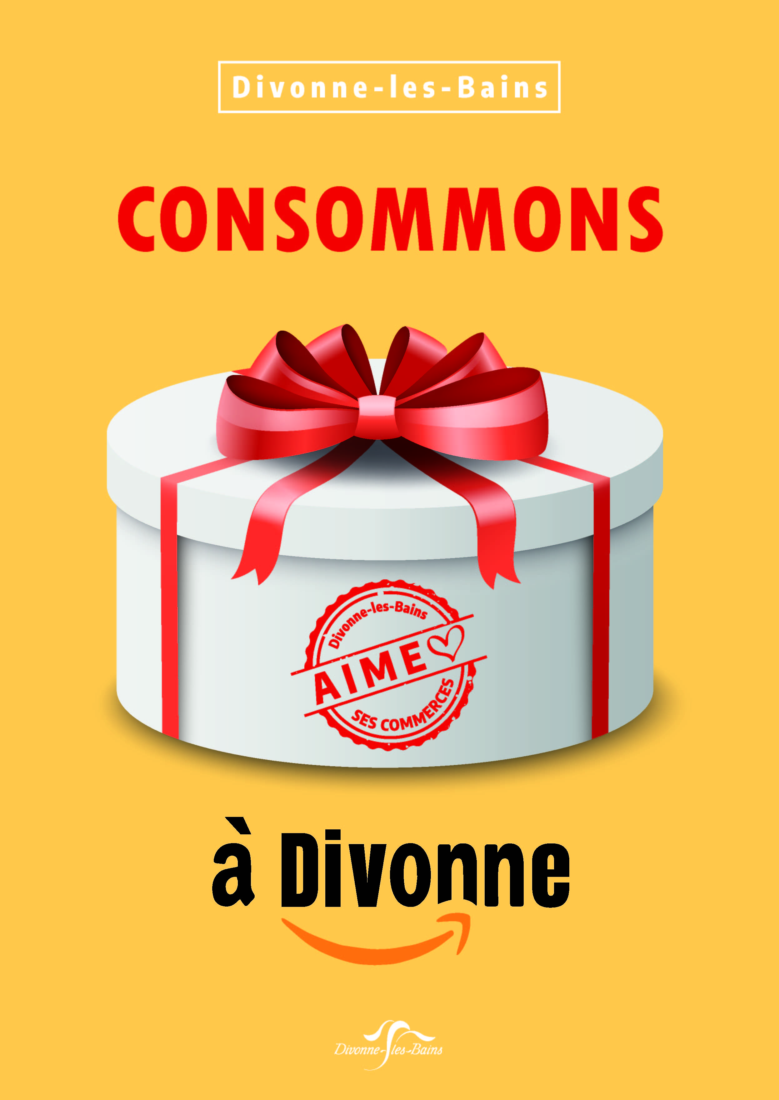 Affiche commercants consommons A4